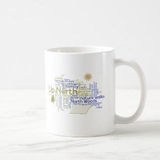 Up North - Michigan Components Coffee Mug