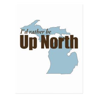 Up North - Michigan Postcard