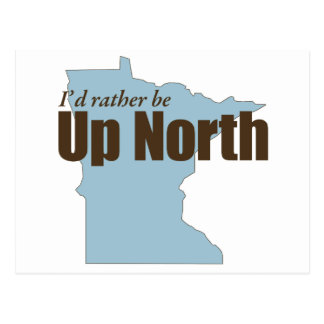 Up North - Minnesota Postcard