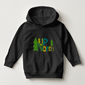 Up North Pines Trees Hoodie