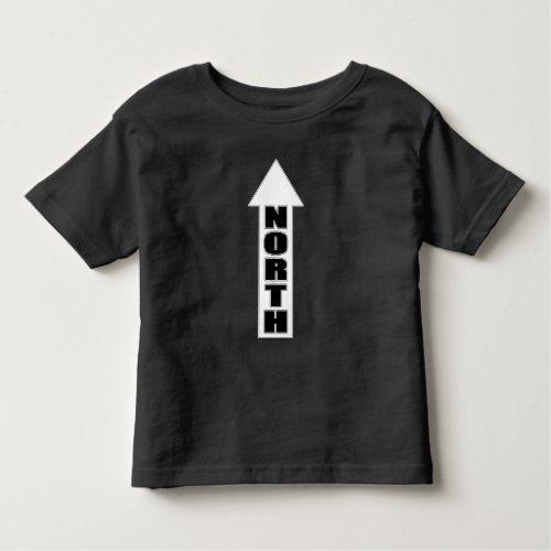 Up North _ Simple Arrow Design Toddler T_shirt