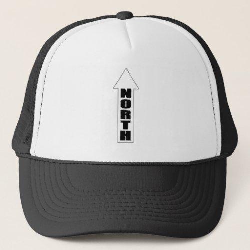 Up North _ Simple Arrow Design Trucker Hat
