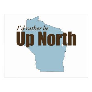 Up North - Wisconsin Postcard