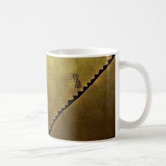 Up or Down? Classic White Coffee Mug