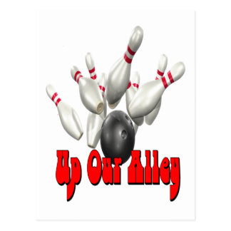 Up Our Alley Postcard