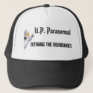 UP Paranormal Trucker Hat (white)