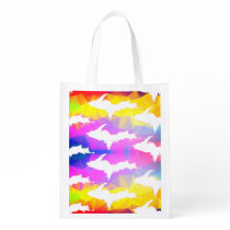 UP pattern, 2-sided print, reusable grocery bag