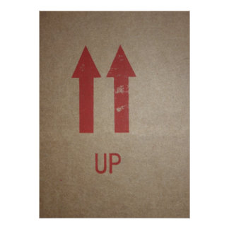 Up Poster or Print