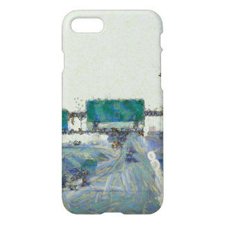 Up ramp on a highway iPhone 7 case