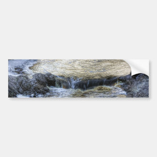 Up River Bumper Sticker