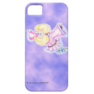 Up-side down flying pink girl iPhone SE/5/5s case
