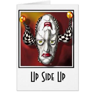 Up Side Up Card