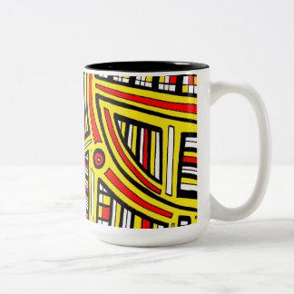 Up Skilled Honored Superb Two-Tone Coffee Mug