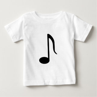 Up Stem 8th Note Baby T-Shirt