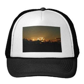 up sunset trucker hat