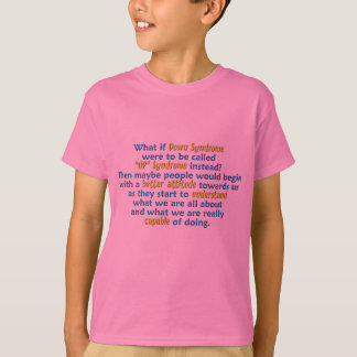 """""""UP"""" Syndrome T-Shirt"""