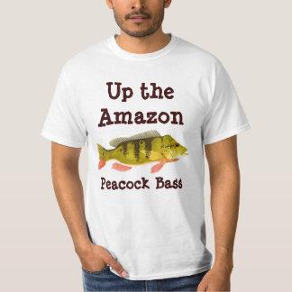Up the Amazon-Peacock Bass Apparel T-Shirt