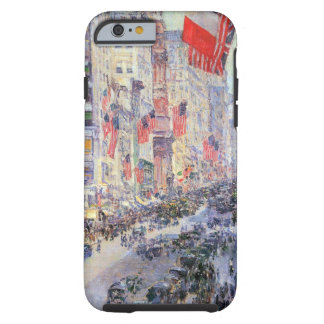 Up the Avenue from 34th Street by Childe Hassam Tough iPhone 6 Case