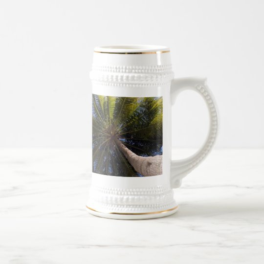 up the coconut tree beer stein
