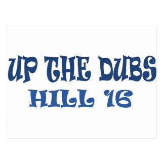 up the dubs Dublin Ireland Postcard