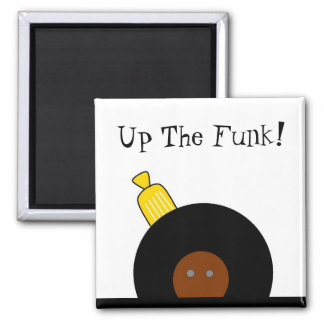 Up The Funk Afro Man Magnet