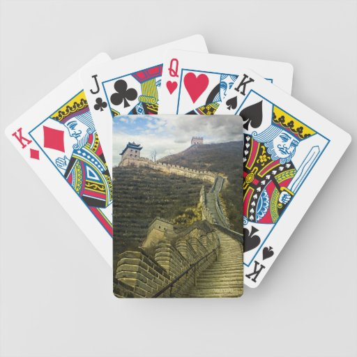 Up the Great Wall Bicycle Playing Cards