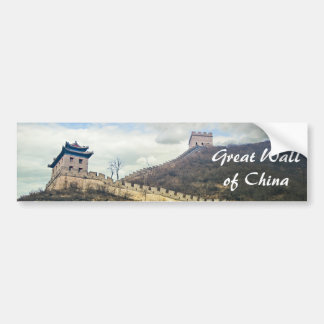 Up the Great Wall Bumper Sticker