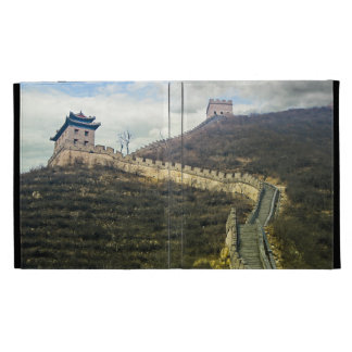 Up the Great Wall iPad Cases