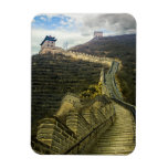 Up the Great Wall Rectangular Photo Magnet