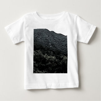 Up the mountain using cable cars baby T-Shirt