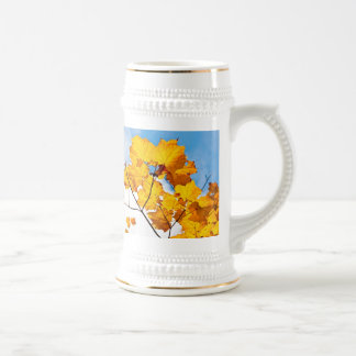 up to an ending beer stein