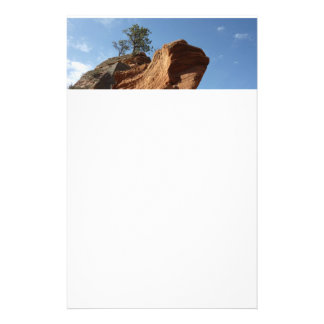 Up to Angels Landing in Zion National Park Stationery