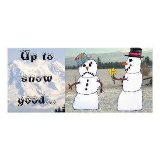 Up to snow good... rack card