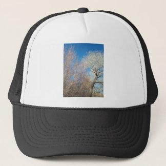 Up tree trucker hat