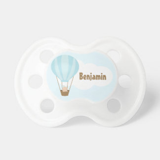 Up, Up and Away! Baby in Balloon Pacifier