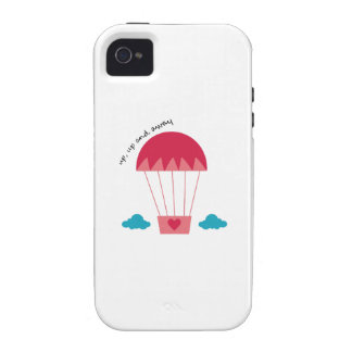 Up Up And Away iPhone 4 Cases