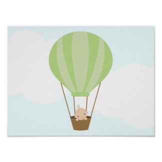 Up, Up and Away! Children's Wall Art Posters