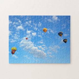 Up, Up, and Away! Hot Air Baloon Puzzle