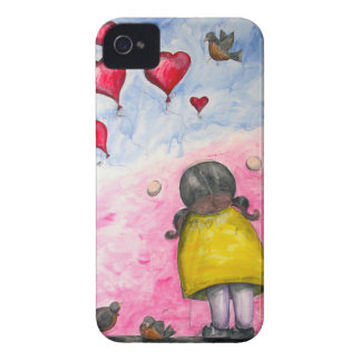 """Up, up and away!"" iPhone case"