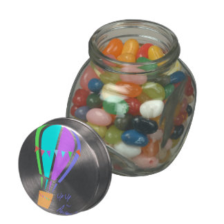 Up Up and Away! Jelly Belly Candy Jar