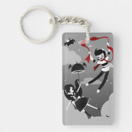 """""""Up, up and away!"""" Keychain"""