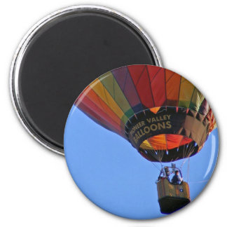 """Up, up and away"" 2 Inch Round Magnet"