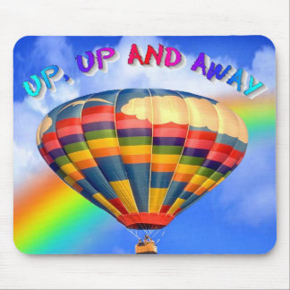 Up, Up and Away Mouse Mats