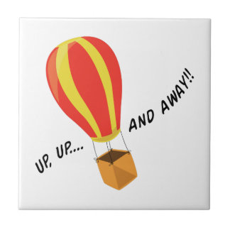 Up, Up And Away! Ceramic Tile
