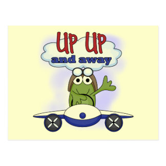 Up Up and Away Tshirts and Gifts Postcard