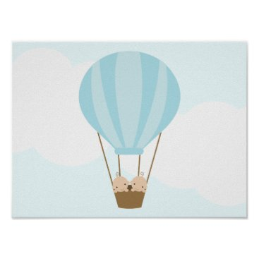 heartlocked Up, Up and Away! Twin Boys Children's Wall Art