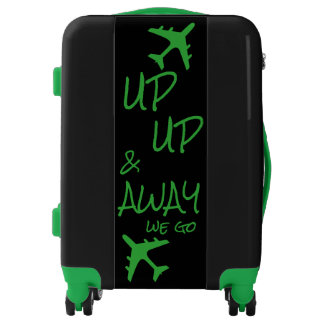 Up Up and Away We Go Travel Luggage