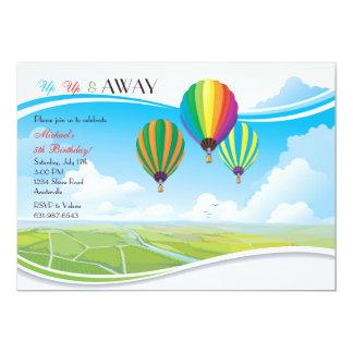 Up Up & Away Invitation