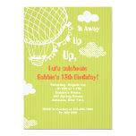 Up, Up & Away Invitation