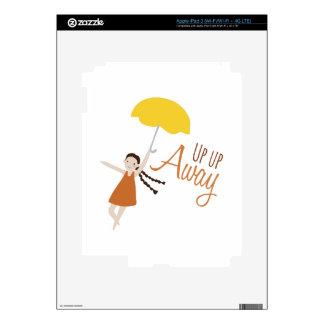 Up Up Away iPad 3 Decals
